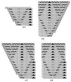 Good Luck - Strikket sjal med bladmønster i DROPS BabyAlpaca Silk, strikket ovenfra og ned. - Free pattern by DROPS Design