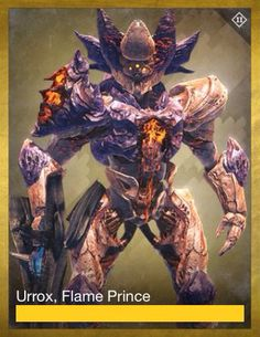 Urrox Flame Prince Love Destiny, Destiny Game, Character Concept, Concept Art, Destiny Bungie, Pokemon, Creature Concept, Ghost In The Shell, Marvel