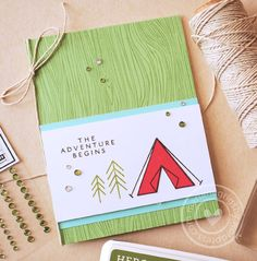 Today's sneak peeks are all about adventure. Amongthe new products included in the 2016 Summer Catalog, there are many fun stamps that are just perfect tocreate greeting cards or document y…