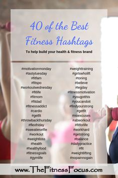 Beachbody Coach Daily To-Do List with Printables Forty of the best health and fitness related hashtags to use on social media. Fitness Blogs, Fitness Motivation, Fitness Video, Health And Fitness Articles, Health Fitness, Health Tips, Health Blogs, Fitness Planner, Diy Home