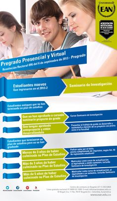 EANista: conoce las nuevas opciones de trabajo de grado para #Pregrado