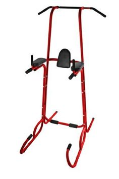 Stamina Power Tower Home Gym, Red - Click pics for price <3