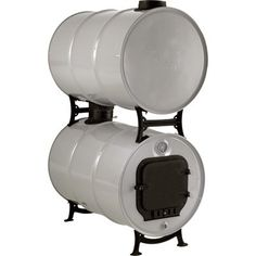 Metal Fire Pit, Metal Drum, Diy Fire Pit, Oil Drum Bbq, Barrel Stove, Diy Wood Stove, Ace Hardware Store, Water Storage Containers, 55 Gallon Drum