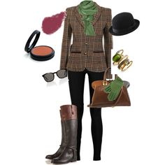 going to the horse show from elegancerules on polyvore