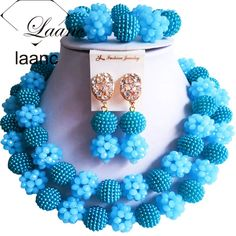 Find More Jewelry Sets Information about boho jewelry set crystal beads necklace earrings bracelet AL102,High Quality Jewelry Sets from laanc african beads Store on Aliexpress.com