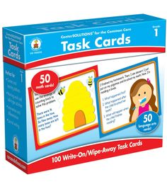 Task Cards Learning Cards 100ct Grade 1