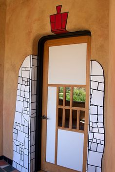 Quixote Winery Hundertwasser House - The winery building, including grounds, is the only United States project built by Viennese architect Friedensreich Hundertwasser (1928–2000). By Hydrogen