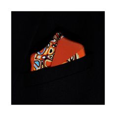 Pebble Cluster Printed Silk Pocket Square - Lord Dotte