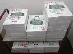 """Die Goodies für den MMT 31 """"GameDev"""" sind eingetroffen. Nächsten Montag bekommt jeder Teilnehmer in der Stadtbibliothek Köln ein Exemplar der t3n geschenkt!"""