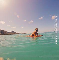 Gopro Underwater, Underwater Photos, Summer Goals, Happy Fun, Summer Vibes, Surfboard, Vsco, Hawaii, Surfing