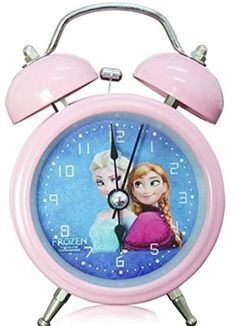 Frozen Princess Elsa and Anna Mini Twin Bell Alarm Clock Cherry Room http://smile.amazon.com/dp/B00MRNCTDE/ref=cm_sw_r_pi_dp_wiymub1R1ME1E