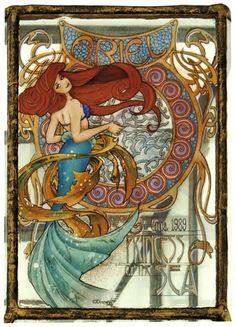61 Art Nouveau Style Characters
