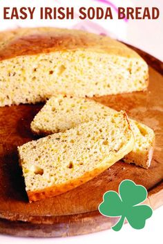Easy Irish Soda Bread With Cheese Mommy Evolution Yeast Bread Recipes, Quick Bread Recipes, Baking Recipes, Cheese Bread, Cheddar Cheese, Good Food, Yummy Food, Soda Bread, Irish Recipes
