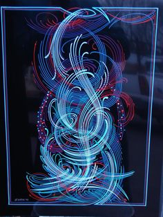 Pin-stripping by Zeke Lemanski