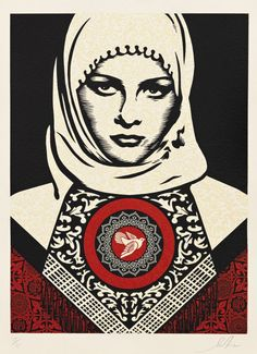 Arab Woman   Shepard Fairey   Target Series   2012