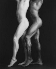 Ken and Tyler by Robert Mapplethorpe by Guggenheim Photos Size: 59.4x49.7 cm Medium: Platinum print Solomon R. Guggenheim Museum, New York Gift, The Robert Mapplethorpe Foundation, 1996 © The Estate of Robert Mapplethorpe