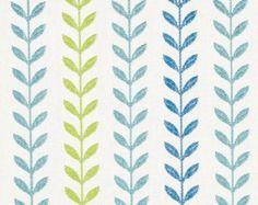 Yellow Charcoal Grey Linen Upholstery Fabric by PopDecorFabrics