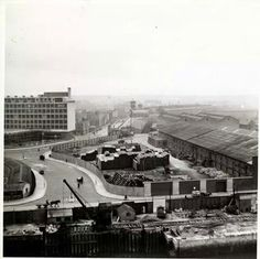 Amiens Street Dublin, before the IFSC.
