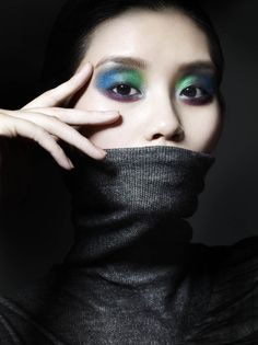 Vogue China - Liz Collins - 2012 Makeup by Lisa Eldridge http://www.lisaeldridge.com/gallery/editorial/ #Makeup #Beauty #Fashion