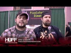 Pixelated Dimension HUFF MOVIE Review, Comic Con WizardWorld