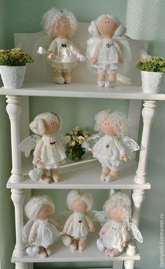 Коллекционные куклы ручной работы. Заказать Ангел-хранитель. Светлана Рубин. Ярмарка Мастеров. Ангел, предмет интерьера, подарок на крестины