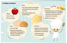 Saúde Plena ajuda você a preparar uma merendeira saudável para seu filho ou filha (Arte: Soraia Piva)