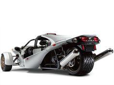 """Campagna Motors - """"T-Rex: three-wheeled part motorcycle, part car"""""""