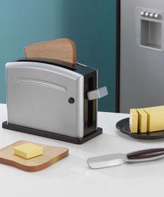 Look at this #zulilyfind! Espresso Toaster Set by KidKraft #zulilyfinds