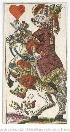 [Jeu de tarot à enseignes françaises dit « de la noce bavaroise », ou Baierische Hochzeit] : [jeu de cartes, estampe] / Andreas Benedictus Göbl Date d'édition : 1765