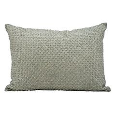 kathy ireland by Nourison Beaded Rectangular Accent Pillow // Accent Pillow