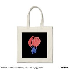Air Balloon Budget Tote