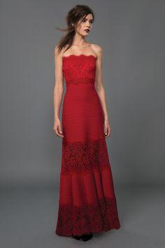 Tadashi shoji pintuck fit-and-flare lace dress size 6 - ret. $579 ...