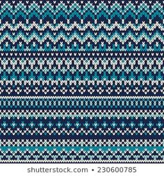 Festive and Fashionable Sweater Design : Seamless Fair Isle Knitted Pattern. Festive and Fashionable Sweater Design charts fair isle Motifs Bargello, Bargello Patterns, Afghan Crochet Patterns, Crochet Patterns For Beginners, Knit Patterns, Fair Isle Knitting Patterns, Knitting Charts, Knitting Stitches, Tejido Fair Isle