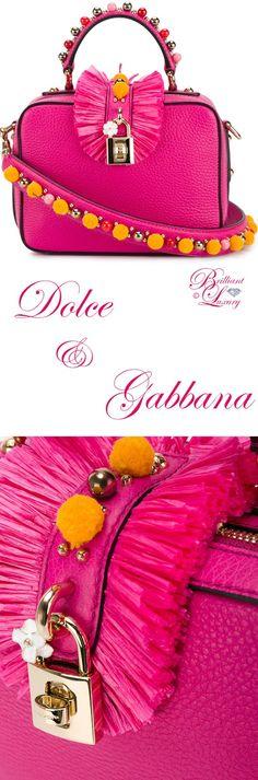 Brilliant Luxury by Emmy DE ♦ Dolce & Gabbana Small Embellished Shoulder Bag