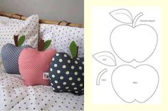 Super cute cushions to display in the kids room!