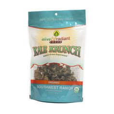 Shop Alive & Radiant Southwest Ranch Kale Krunch at wholesale price only at ThriveMarket.com $4.25