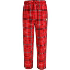 Concepts Sport Men's University of Louisville Ultimate Flannel Pant (Red, Size X Large) - NCAA Licensed Product, NCAA Men's Fleece/Jackets at Acade...