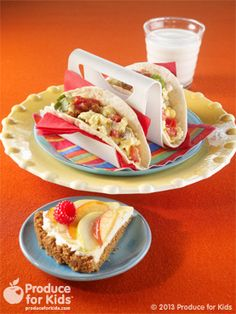 This Southwestern-inspired breakfast taco recipe is savory and easy to make.