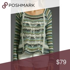 Spotted while shopping on Poshmark: New Free People PHOENIX Open mix weave sweater! #poshmark #fashion #shopping #style #Free People #Sweaters