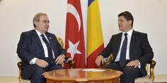 Ministrul afacerilor externe, Titus Corlăţean, l-a primit astăzi, 8 septembrie 2014, cu ocazia încheierii mandatului, pe Ömür Şölendil, ambasadorul Republicii Turcia în România.