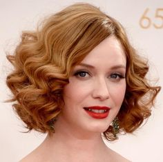 Get The Look: 1920s Waves Like Christina Hendricks' Emmys Hair in 4 Easy Steps!