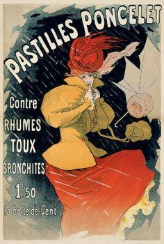 Jules Cheret - Pastilles Poncelet - Fine Art Print