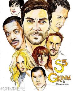 We have the most talented fans. Thank you @rusa.art for this gem. #Grimmiere #season5 tonight! @nbcgrimm