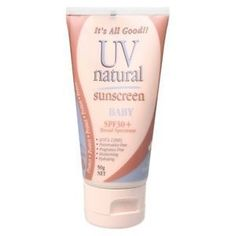 Keep your baby's precious skin safe from the sun's harmful rays with the fabulous UV Natural Baby Sunscreen. Hello Charlie - UV Natural Baby Sunscreen SPF 30 plus, $16.95 (http://www.hellocharlie.com.au/uv-natural-baby-sunscreen-spf-30-plus/)
