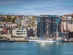 Venezuelan navy tall ship Simon Bolivar from the south side of St. John's Harbour. (Submitted by Rachel Hinxman)