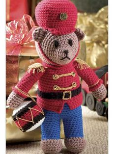 FREE Pattern... Little Drummer Bear  Registration required
