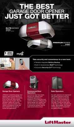 LIFTMASTER GARAGE DOOR OPENERS. Image Result For Liftmaster Authorized  Dealer