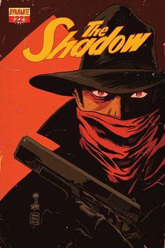 Shadow #022 (Francesco Francavilla Cover)