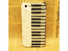 Bling Bling Piano Pattern iPhone 5 Case