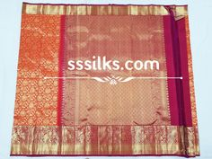 Indian Handloom Sarees and Silks Kanchipuram Saree, Handloom Saree, Festival Wedding, Pure Silk Sarees, Floral Stripe, Scriptures, Festivals, Temple, Weaving